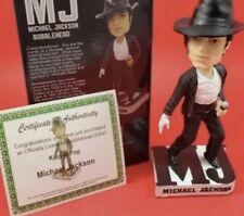 The King of Pop Michael Jackson & Certificate of Authenticity Coa Original Box