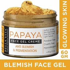 Organic Anti Blemish and Pigmentation Face Cream Gel with Papaya & Saffron 50 Gm