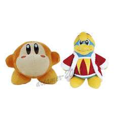 Set of 2 Kirby Waddle Dee & King Dedede Plush Doll Figure Soft Toy Gift US Ship