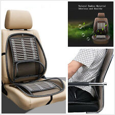 Black Car Offroad Seat Chair Mesh Lumbar Brace Waist Massage Support Pad Cushion