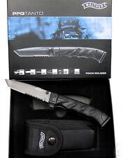 Walther Taschenmesser PPQ Knife Tanto  5.0747 Rettungsmesser mit Holster