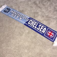c259836aeb2c6 Manchester City V Chelsea Charity Shield Collectable Football Scarf 12 08 12