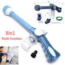 8in1 Jet Water & Soap Dispenser Cannon 8 Nozzle Multi-Function Nozzle Spray Gun