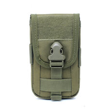 Tactical Molle Waist Pack Utility Cell Phone Bag ID Card Holder Pouch Belt Case