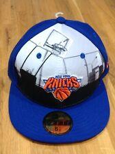 NUOVO CON ETICHETTA!!! 59 FIFTY NEW ERA New York Knicks Berretto Da Baseball. Taglia 6 7/8 S o 54.9 cm