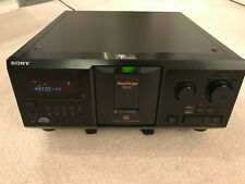 SONY CDP-CX355 MEGA STORAGE 300 COMPACT DISC PLAYER FOR PARTS ONLY NOT WORKING