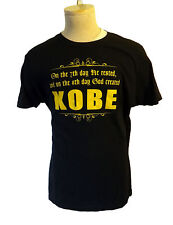 KOBE bryant beef los angeles laker basketball tee shirt fan uniform M Creation