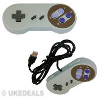 PC Retro Megadrive Gaming USB Game Controller Joystick Joypad Gamepad Snes Style