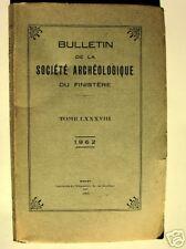 BULLETIN DU FINISTERE Concarneau Anne de Bretagne