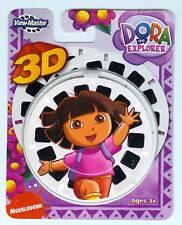 NEW ~ DORA THE EXPLORER ~ 3-D View Master Reels 3pk