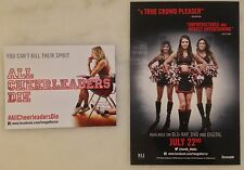 ALL CHEERLEADERS DIE (2014) Fridge Magnet & Card; Movie Promo; Horror; Zombies