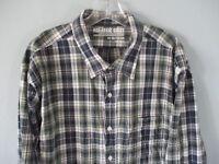 Old Navy Men's Sz XXL 2XL Classic Shirt Slim Fit Long Sleeve Button-Front Shirt