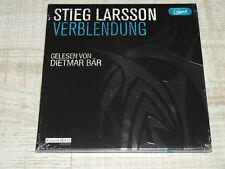 2 MP3-CD Verblendung von Stieg Larsson **NEU**