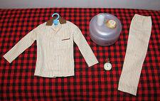 1961 MINT SET Barbie KEN DOLL~SLEEPER SET~5 Pc.Set~COMPLETE~781~-Bun-Milk-Clock!