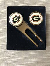 Georgia Bull dawgs golf divot tool and ball markers