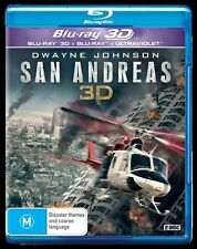 San Andreas (3D Blu-ray ONLY NO 2D, 2015)  IN STOCK NOW