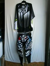 Mens motocross combo, ONEAL HARDWARE pants size 30 & FLY jersey size LARGE