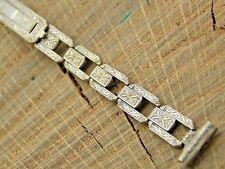 Gemex Vintage NOS Unused Gold Plate Watch Band 10mm Straight Deployment Bracelet