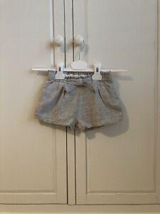 zara baby girl 2 - 3 years Grey Winter Shorts