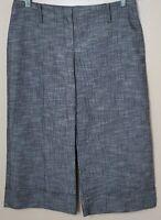 Byer California Juniors Wide Leg Gaucho-Style Stretch Capri Pants - Black - Sz 9