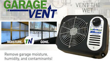 Garage Vent | Eliminate garage humidity & moisture! Keep your Garage Cool & Dry!