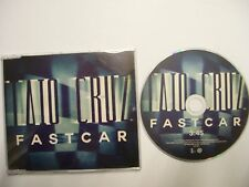 TAIO CRUZ Fast Car – 2011 UK CD PROMO – Electro, House –  BARGAIN!