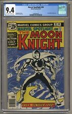 Marvel Spotlight 28 (CGC 9.4) 1st solo Moon Knight story; Newsstand (j#5985)