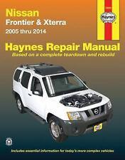 HAYNES NISSAN FRONTIER & XTERRA 2005 THRU 2014 REPAIR MANUAL