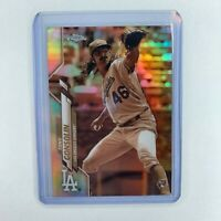 2020 Topps Chrome Tony Gonsolin Sepia Refractor Rare RC Rookie Dodgers 📈