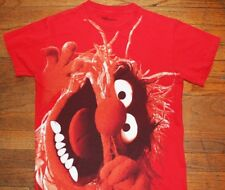 ANIMAL / THE MUPPET SHOW / MUPPETS / DRUMMER / DR. TEETH / RED T-SHIRT SIZE S