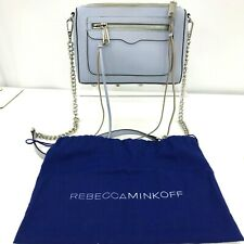 Rebecca Minkoff Crossbody Bag Shoulder Strap Lilac Purple Leather Casual 292204