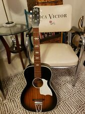 Vintage Stella Harmony S-70 Acoustic Parlor Campfire Guitar 60's 70s Made in USA