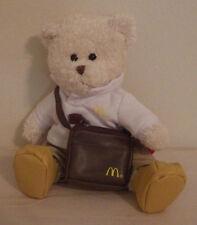 "McDonald's Bear with Handbag Plush Stuffed Animal 8"" Tall"