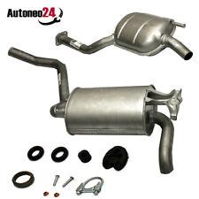 Auspuffanlage Auspuff ab Kat Mercedes Benz 190 E 1.8 E 2.0 W201 Montagesatz
