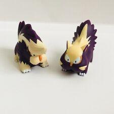 Stunky & Skuntank Pokemon Nintendo Bandai Toy Figures Vtg Set e