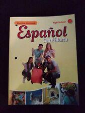 Español Santillana High School Practice Workbook Level 1  New