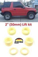 """Lift Kit for Geo Tracker Suzuki Vitara Sidekick 88-98 2"""" 50mm Leveling set"""