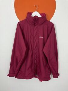 Women's Berghaus Raincoat Jacket Coat Windbreaker Ladies UK Size 18