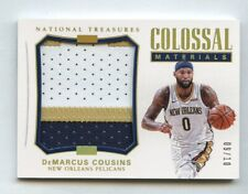 DeMarcus Cousins 2017 National Treasures Colossal Materials Patch #/10