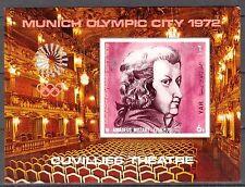Yemen 1971 Olympics Theatre Music W. Mozart S/S imperf. MNH**Mi.:Bl.156 18,00Eur
