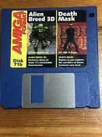 Amiga Format Magazine Cover Disk 71b Alien Breed 3D Death Mask tested & working