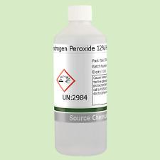 Peróxido de hidrógeno 12% de calidad alimentaria 500ml