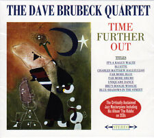 THE DAVE BRUBECK QUARTET - TIME FURTHER OUT/THE RIDDLE 2ALBUMS (NEW SEALED 2CD)