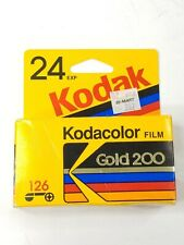 Kodacolor Gold 200 126-24 film Unused Expired 1992 Free Shipping