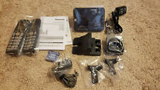 Panasonic KX-TGE433B Cordless Phone System  Answering Machine 2 Handsets