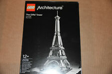 Lego Architecture The Eiffel Tower 21019  Set Brand New & Sealed BNIB