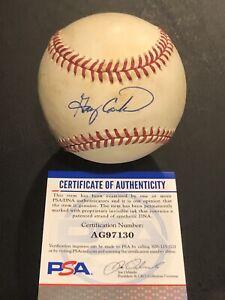 GARY CARTER Signed Autograph Auto RONLB Baseball Ball New York Mets Expos PSA