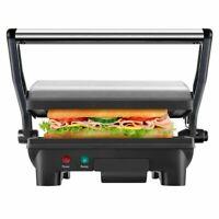 Chefman Electric Panini Press Grill and Gourmet Sandwich Maker w/ Non-Stick Coat