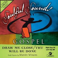 Marvin Winans - Draw Me Close / Thy Will Be Done - Accompaniment CD New