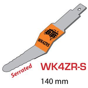 BTB SERRATED REVERSE 'Z' BLADE for WINDSCREEN GLASS REMOVAL (140mm) WK4ZRS
